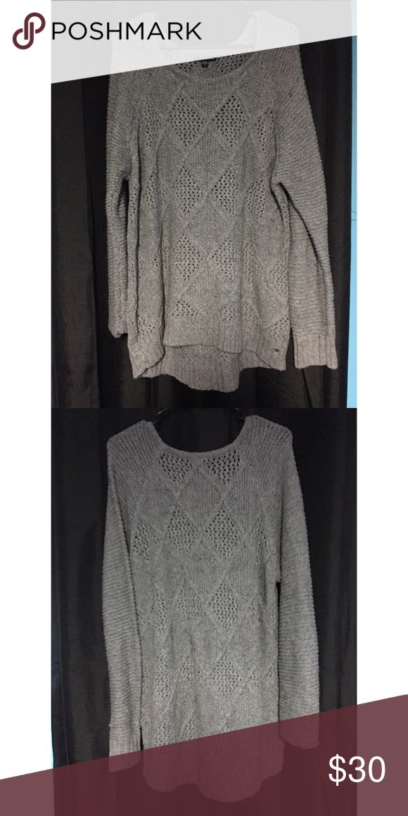 Never worn before! American Eagle Sweater XL Never been worn. American Eagle Sweater size XL. Over sized style Sweater. Perfect to wear on a cold day! American Eagle Outfitters Tops