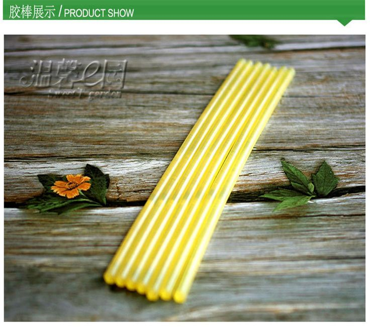 5pcs/lot DS229 16.3cm Length Hot melt Glue Sticks DIY Moss Landscaping Using Hot Melt Adhesive Bar Free Shipping Russia#landscaping