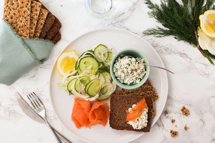 Scandinavian platter (smörgåsbord)