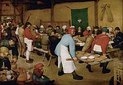 Anglická renesance Selská svatba