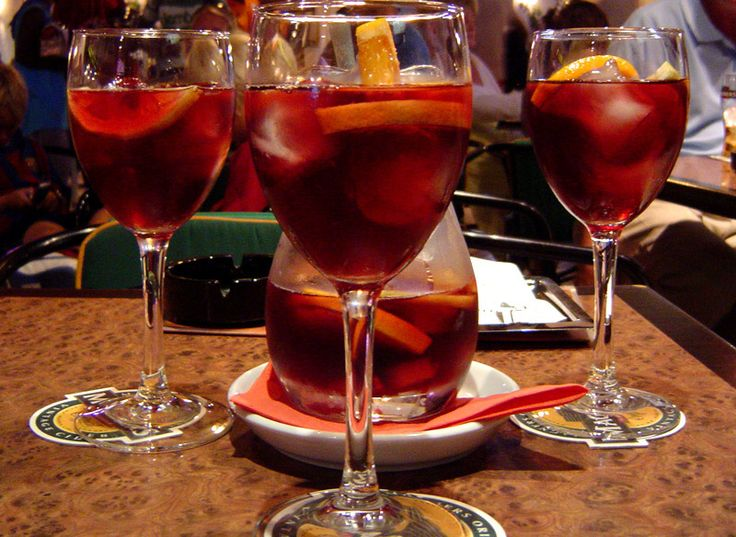 Went to Olive Garden with my boyfriend and accidentally got a pitcher of sangria. It was so good!