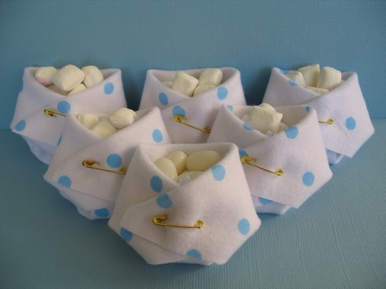 Diaper Candy pouch,also put cookies instead of candies..
