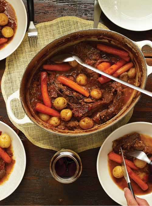 Italian-Style Braised Beef Recipes | Ricardo