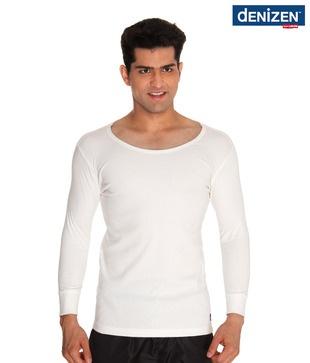 Denizen Off White Thermal Vest: Snapdeal Com, White Thermal, Vest Online, Thermal Vest