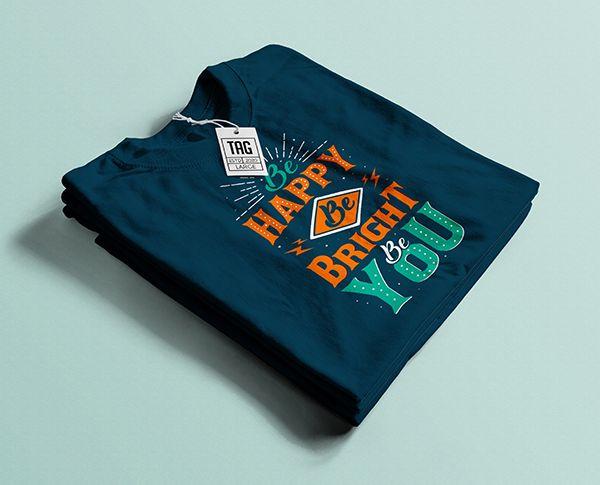 Download Free Folded T Shirt Mockup Psd In 2020 Shirt Mockup Tshirt Mockup Blue T