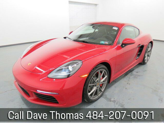 Used 2019 Porsche 718 Cayman S 2019 S New Turbo 2 5l H4 16v Automatic Rwd Coupe Premium 2020 In 2020 Porsche 718 Cayman Cayman S Porsche