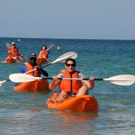 Kayaking in Port Elizabeth - The location of Port Elizabeth near sea and river makes this city a haven for water sports enthusiasts. The city is stretched along Algoa Bay with its many beautiful beaches and only a short drive away is the wide Sundays or Nukakamma River. This location means endless possibilities for a Kayaking Adventure. If you are in the mood for a river adventure, try out the PPC Nukakamma Canoe Trail. The flora and fauna along the way makes this trail a great option...