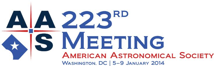 Join the American Astronomical Society with HAD & HEAD in Washington, DC, 5-9 January 2014 Gaylord National Resort and Convention Center 201 Waterfront Street · National Harbor, Maryland 20745 USA