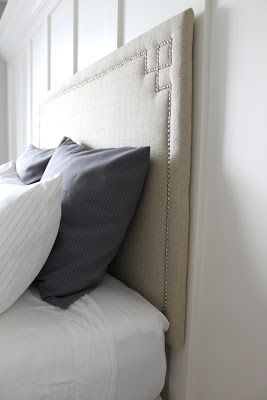 diy headboard-this would be a pain the butt, but worth it