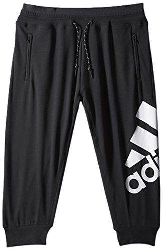 c476a5c13 adidas Essentials Pantalon de Sport 3/4 avec Logo M Noir - Noir/Blanc |  Pantalons de sport pour femme in 2018 | Pinterest | Adidas