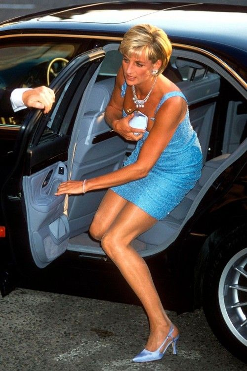 Princess Diana        Arriving At Harrods For Dinner With Mohamed Al Fayed   He PPRuNe