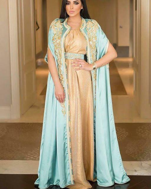 Caftan 2018 Robes Marocaines A Vendre En Ligne - Caftan Marocain de Luxe 2018 : Boutique Vente Caftan Pas Cher