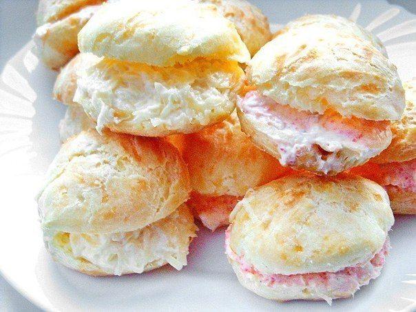 БЕШАМЕЛЬ: Гужеры — французские заварные булочки