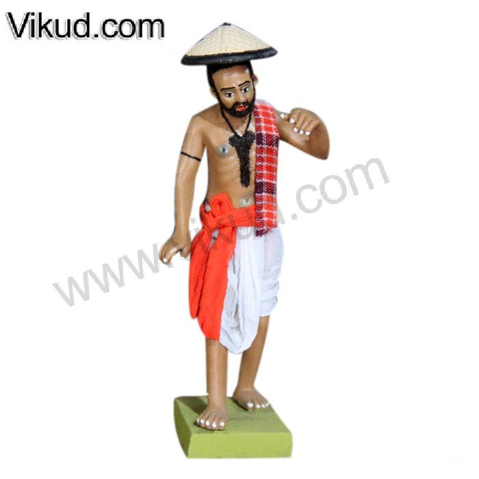 Terracotta-Rajasthani Village Men Doll