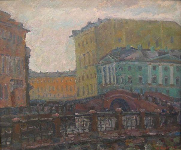 Сорокин Иван Васильевич - Утро на мойке (1977)