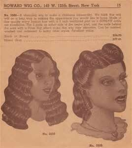 Vintage African American Wig Ad, From Howard's of Harlem, Post WWII