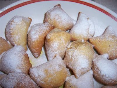 calcionetti abruzzesi | Le vere dosi sono: 3 etti di farina, mezzo bicchiere d'olio, mezzo di ...
