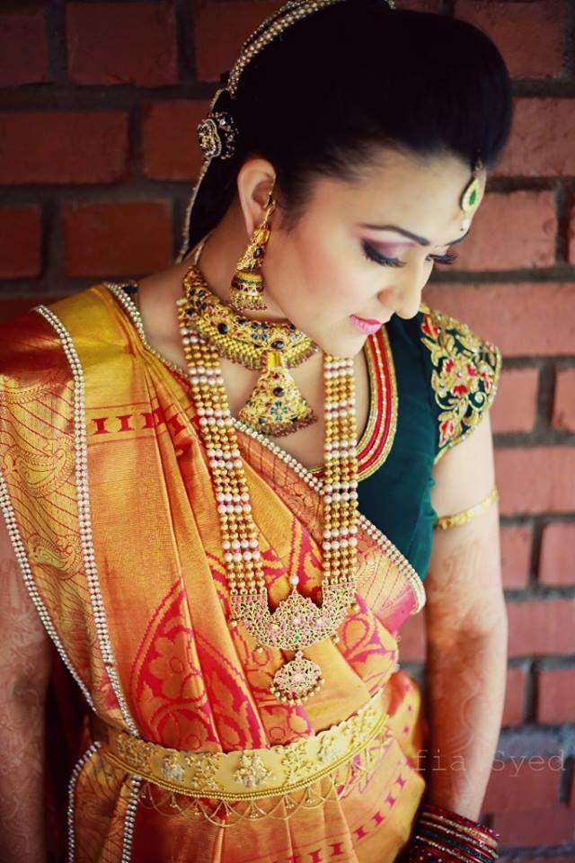 orange-kanjivaram-bride