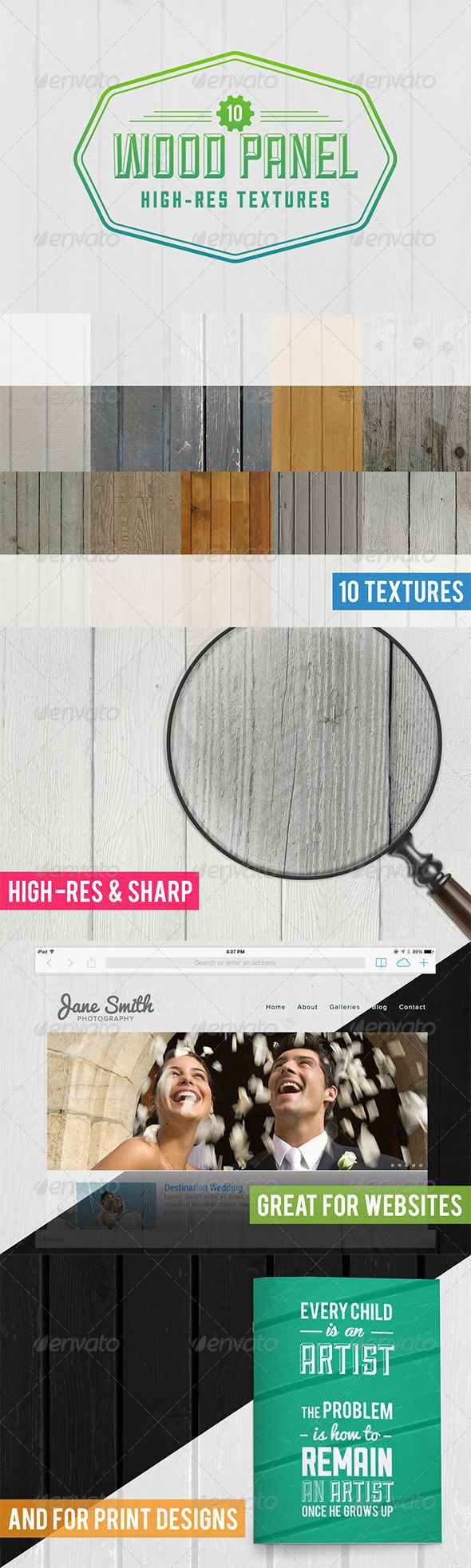 10 Wood Panel Texture Pack — Photoshop PSD #background #wooden • Available here → https://graphicriver.net/item/10-wood-panel-texture-pack/5921455?ref=pxcr