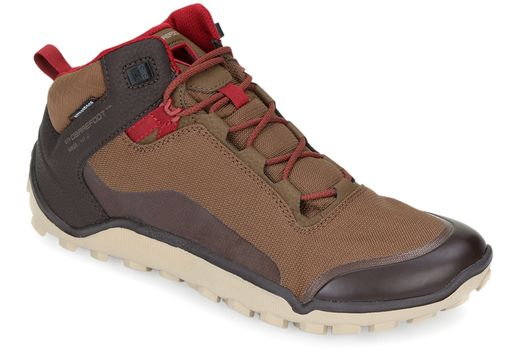 VIVOBAREFOOT Hiker Mens Dark Brown