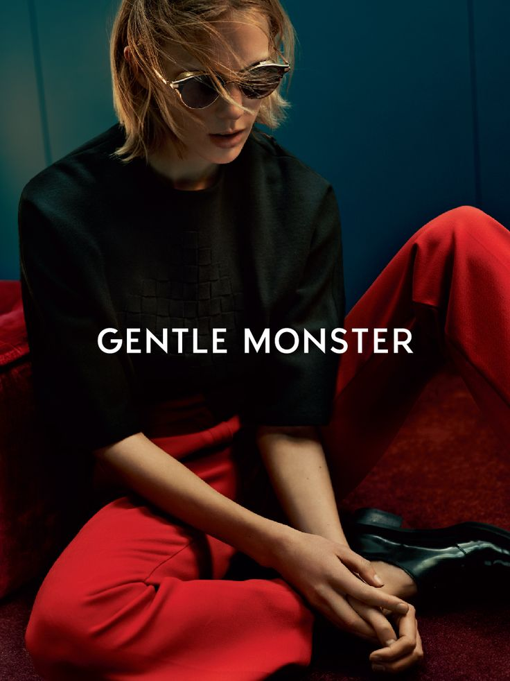 GENTLE MONSTER 2016 SEASON CAMPAIGN ISSUE Official campaign spring summer sunglasses photoshoot by gentlemonster