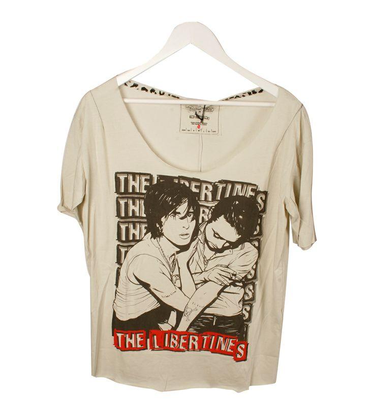 Camiseta pistacho the libertines House of the gods 40.00€