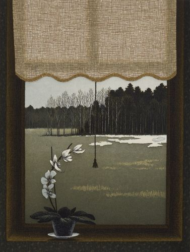 Rullakartiini    2006   by Riippa  Esa(Finnish, b.1947)
