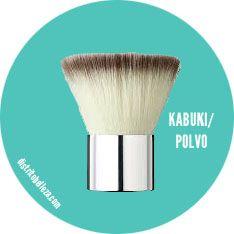 Brocha kabuki