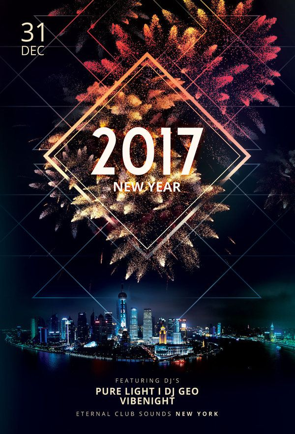 new year flyer template by stylewish buy psd file 9 celebrate the new year with this dark poster design dmkv flyer design flyer template