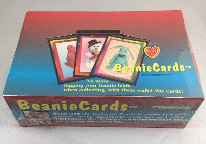 1998 Beaniecards Series 1 Box Beanie Babies Collector Cards - Sealed Lot  | eBay