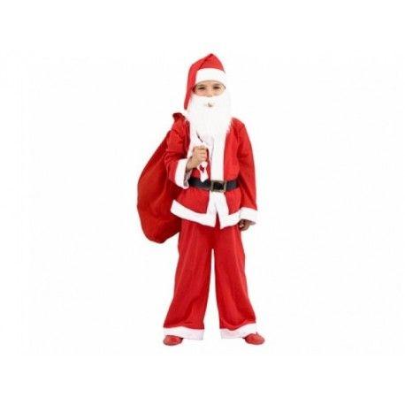Erkek çocuklar için Noel Baba kostümü