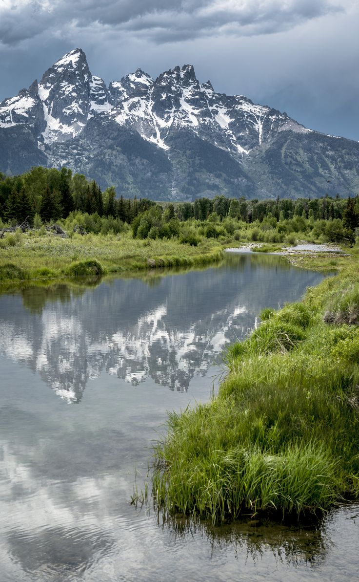˚Grand Teton National Park - Wyoming---These are the most beautiful mountains in the world.