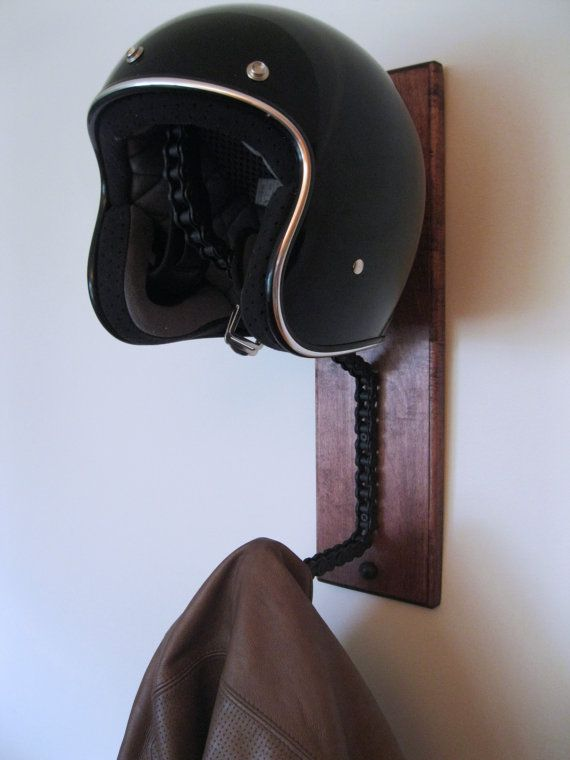 Hey, I found this really awesome Etsy listing at https://www.etsy.com/uk/listing/247834321/motorcycle-helmet-hanger-welded-roller