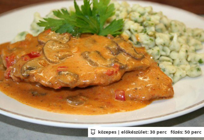 Bakonyi sertésszelet Vicikó konyhájából