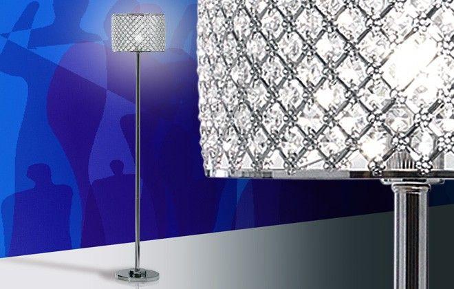 Davvero spettacolare questa #lampada da terra che con i suoi cristalli porta le stelle dentro casa.