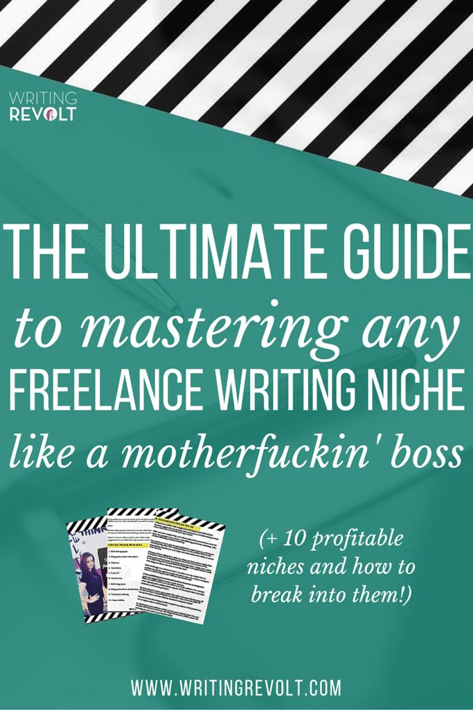 This in-depth, step-by-step guide will help you quickly master any freelance writing niche and start rakin' in that sweet, sweet moo-lah! Check it out, friend! :) (make money writing online, how to start freelance writing, freelance writing tips)