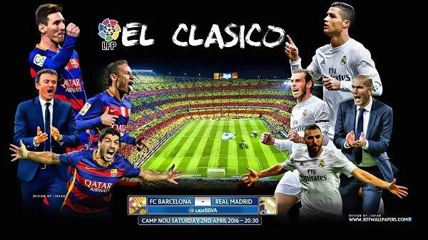 Barcelona x Real Madrid AO VIVO - Transmissão - Assistir - Horário 03/12/2016