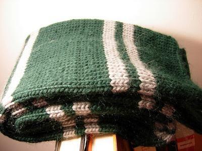 Knit: Harry Potter House Scarves