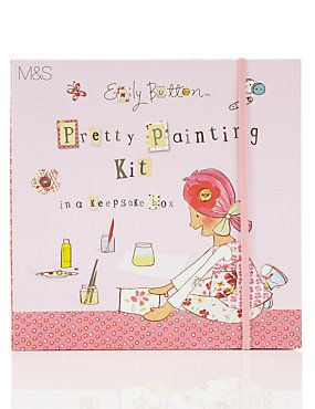 Emily Button Painting Set