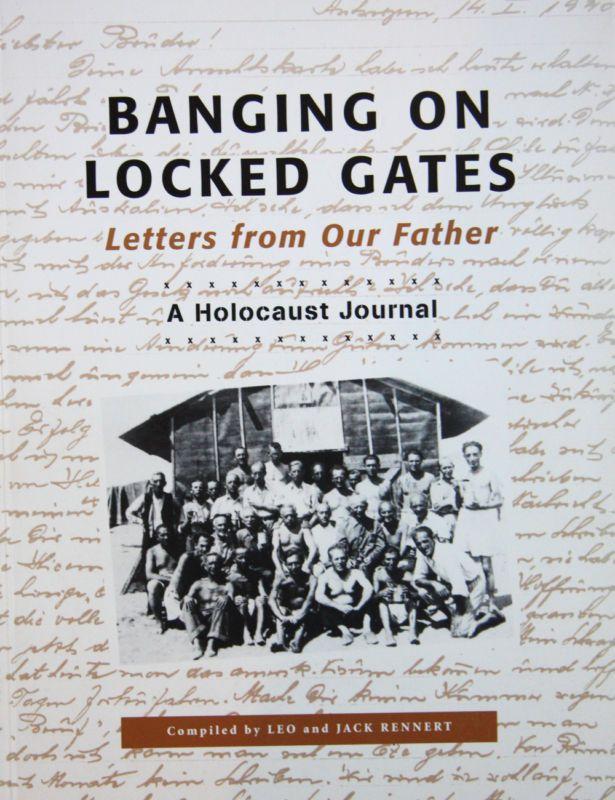 World War II Memoir Banging on Locked Gates Holocaust Letters Jewish WWII Unique