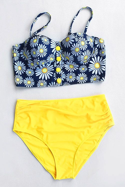 More flower power to you. Only $18.99 can you get it within One Week Shipping Time. Let the bright color bring you to the hot beach now! Enjoy it~