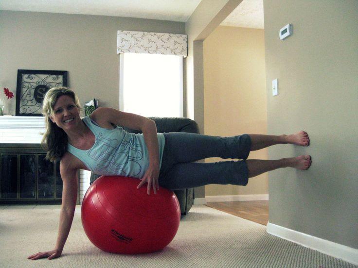 Inner Thigh Lift on Exercise Ball