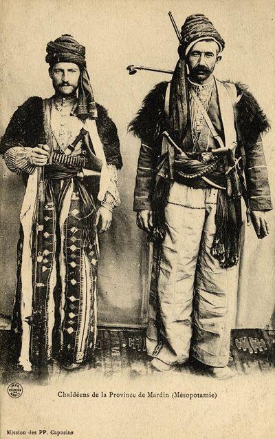 Aramäische Christen aus Mardin, 1869
