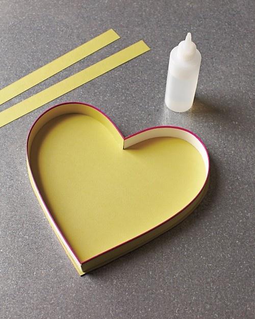Make your own Valentine Candy ❤ box!  Martha Stewart