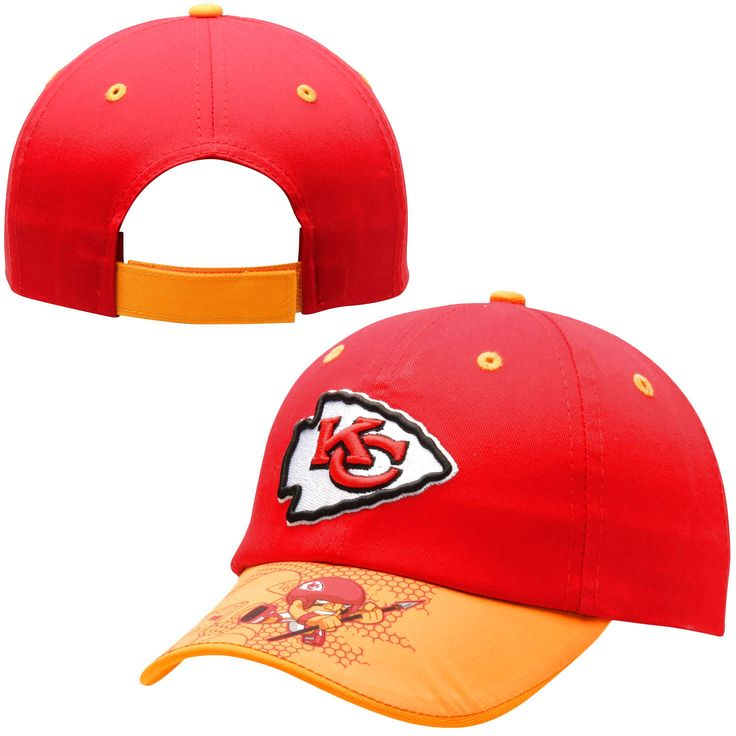 Kansas City Chiefs Toddler NFL Rush Zone Defense Engage Adjustable Hat - Red - $14.39