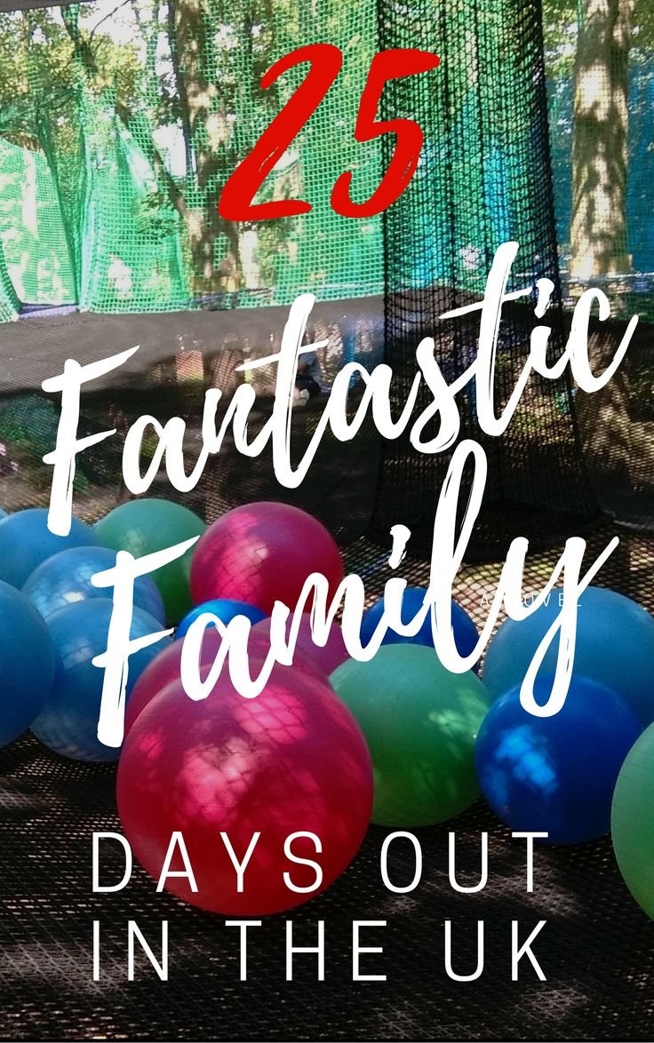 25 Fantastic Family Days Out in the UK.  Days out with the kids in Yorkshire, Lancashine, Cornwall, Devon, London, Midlands, Home Counties.