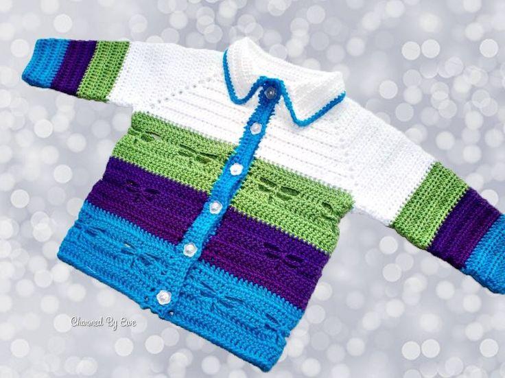 Crochet Dragonfly Jacket