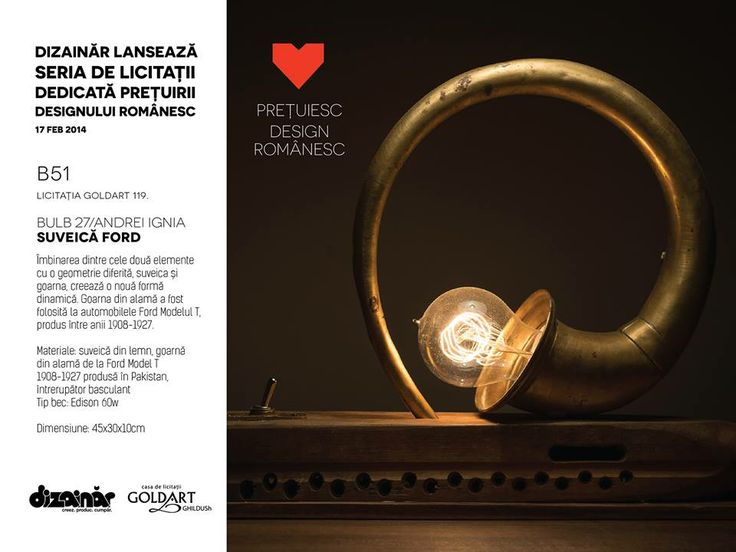 February 17th, Romanian Design Auction