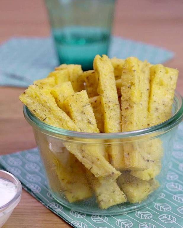 Frites de polenta pour 6 personnes - Recettes Elle à Table