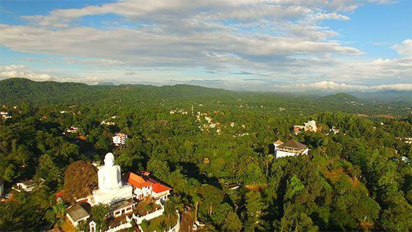 Backward Flyover Kandy City by ayeshafernando Another high aerial Phantom 2 Drone shot of the Mountain city of Kandy in Sri Lanka.